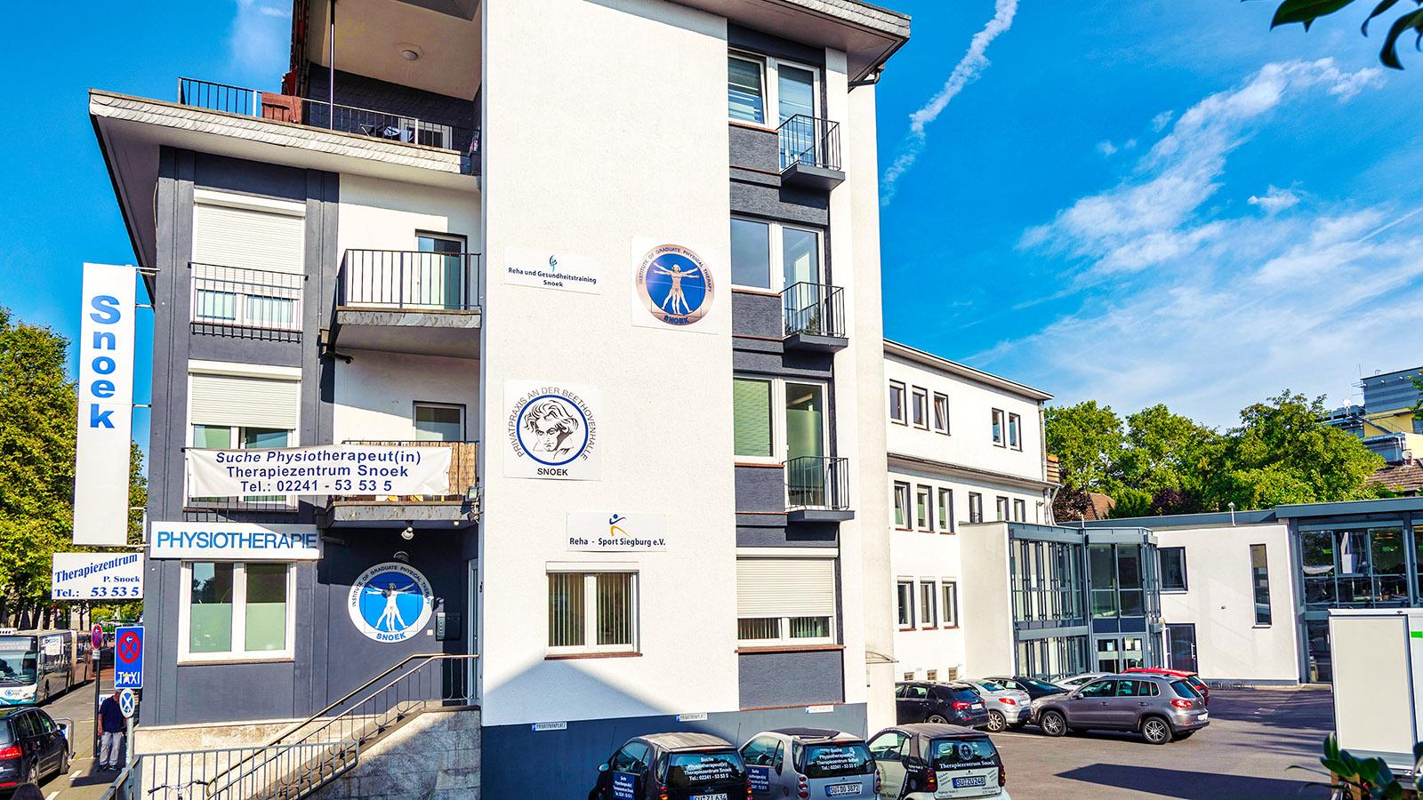 Das Therapiezentrum SNOEK in Siegburg